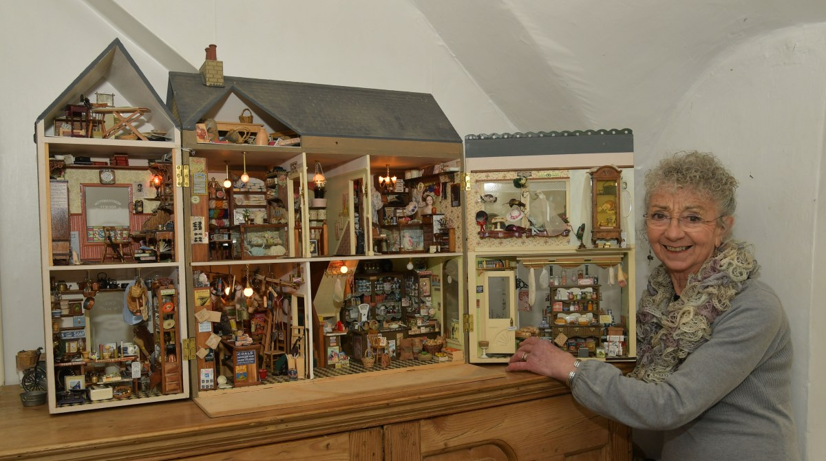 Video insight into the miniature world of Jane Percival